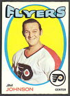 1971 72 OPC O PEE CHEE HOCKEY 48 JIM JOHNSON NM PHILADELPHIA FLYERS CARD