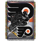 Philadelphia Flyers 48 x 60 Triple Woven Tapestry Throw Blanket by Northwest