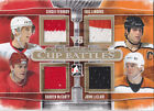 13 14 ITG Used Sergei Fedorov Eric Lindros McCarty John LeClair Quad Jersey 10