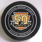 PHILADELPHIA FLYERS 50 YEARS OFFICIAL GAME PUCK 9900421