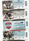 2013 14 PITTSBURGH PENGUINS SEASON TICKET STUB PICK YOUR GAME CROSBY MALKIN
