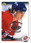 1992 93 Upper Deck NSCC Diamond Ed 55 John LeClair Canadiens 1 1 F16200