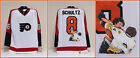 Dave The Hammer Schultz Hand Painted Philadelphia Flyers Jersey
