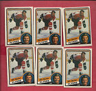 6 X 1984 85 OPC  156 FLYERS BILL BARBER CARD