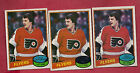 3 X 1980 81 TOPPS  200 FLYERS BILL BARBER CARD