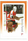 BERNIE PARENT CANADA POST OVERSIZE STAMP GREAT CANADIAN GOALIES FLYERS