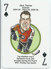 Chris Therien Philadelphia Flyers ODDBALL Playing card