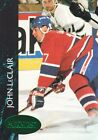 1992 93 Parkhurst Emerald Ice Hockey 326 John LeClair Montreal Canadiens