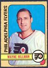 1972 73 OPC O PEE CHEE 255 WAYNE HILLMAN NM PHILADELPHIA FLYERS HOCKEY CARD