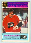 BERNIE PARENT 1975 76 O Pee Chee OPC 75 Hockey Card 291 EX All star 1st Team a