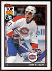 MONTREAL CANADIANS 1991 TOPPS JOHN LECLAIR ROOKIE NMMT FREE SHIPPING