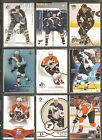CHRIS PRONGER 18 Card Lot Cards NO DOUBLES NHL Hockey Flyers Blues Ducks