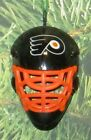 Philadelphia FLYERS Goalie Mask Ornament UPIC NHL 15