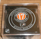 ROD BRINDAMOUR PHILADELPHIA FLYERS HALL OF FAME NIGHT OFFICIAL GAME PUCK 11 23