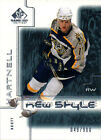 2000 01 SP Game Used 71 Scott Hartnell RC Rookie Card New Style 049 900