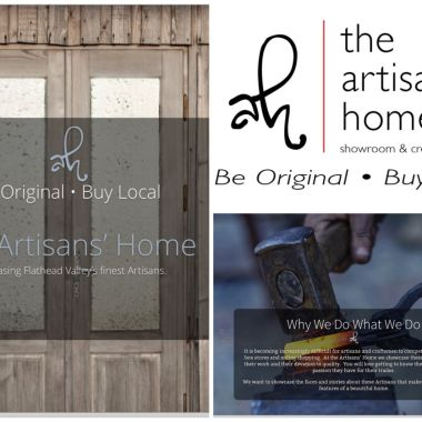 The Artisans' Home – A website project