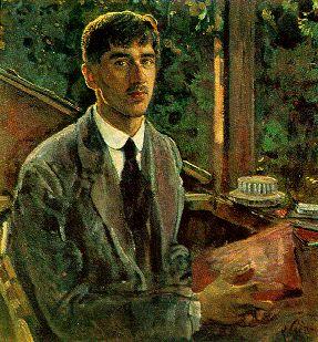 Korney_Chukovsky_by_Isaak_Brodsky_(1915)