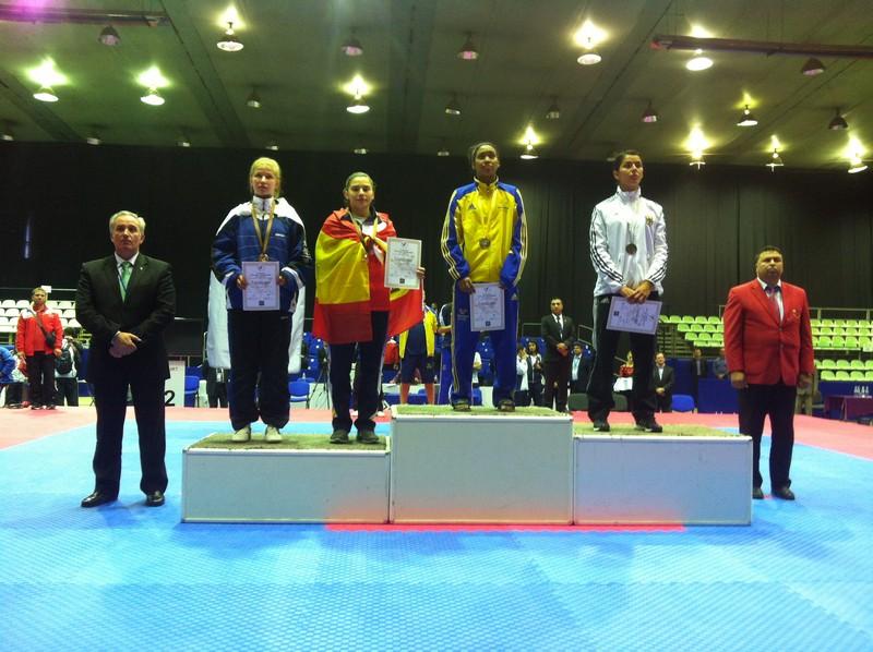 Gema Armesto bronce en el Europeo Sub 21 - 2013