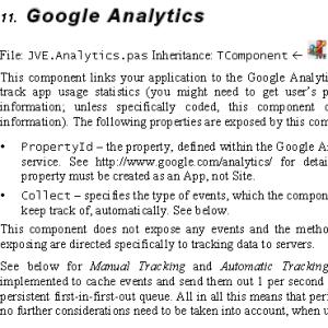 Google Analytics for Delphi Firemonkey IOS