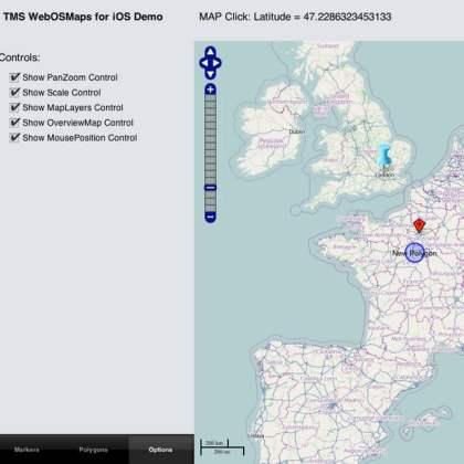 Openstreetmaps for Delphi XE5 Firemonkey