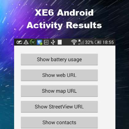 Delphi XE6 Firemonkey Android Activity Result