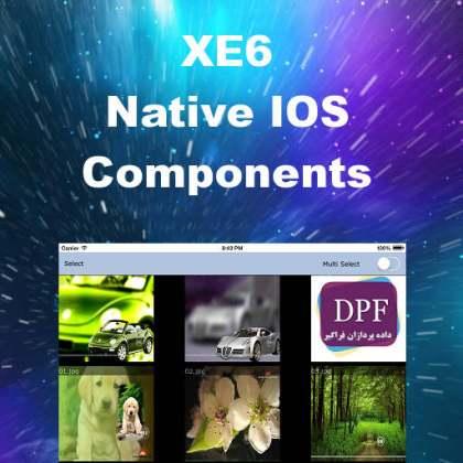 Delphi XE6 Firemonkey Native IOS Components