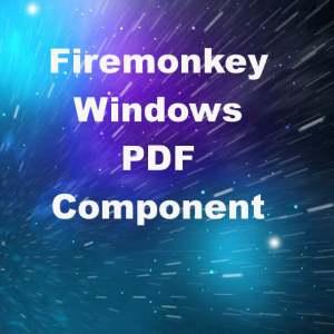 Delphi XE6 Firemonkey PDF View Edit Windows