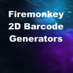 Delphi XE7 Firemonkey 2D Barcode Generator Android And IOS