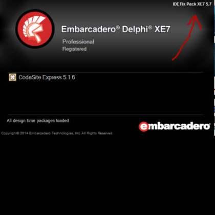 Delphi XE7 Firemonkey Free IDE Bug Fix Pack