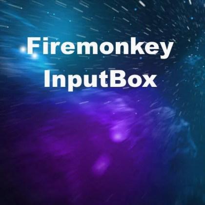 Delphi XE7 Firemonkey Anonymous Thread InputBox