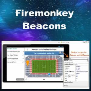 Delphi XE8 Firemonkey iBeacon And AltBeacon On IOS And Android