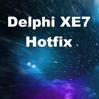 Delphi XE7 Firemonkey Hotfix Android IOS