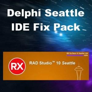 Delphi 10 Seattle IDE Fix Pack Utility