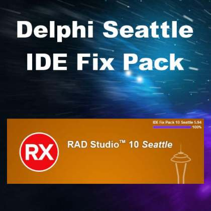 Delphi 10 Seattle IDE Fix Pack Utility
