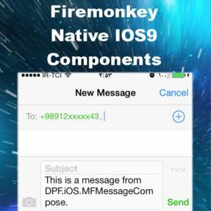 Delphi 10 Seattle Firemonkey IOS9 Native Component Suite