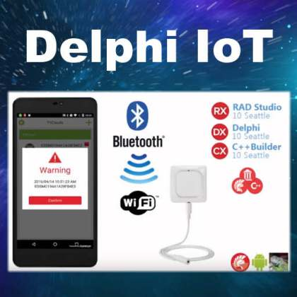 Delphi IoT Firemonkey Android IOS Windows Wifi