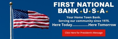 First National Bank USA – Here Today…Here Tomorrow Proudly Serving Boutte, LaPlace, and St ...