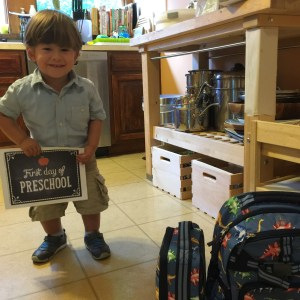 20 thoughts I had during the first week of preschool