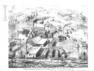 1875 Beers Atlas lithograph