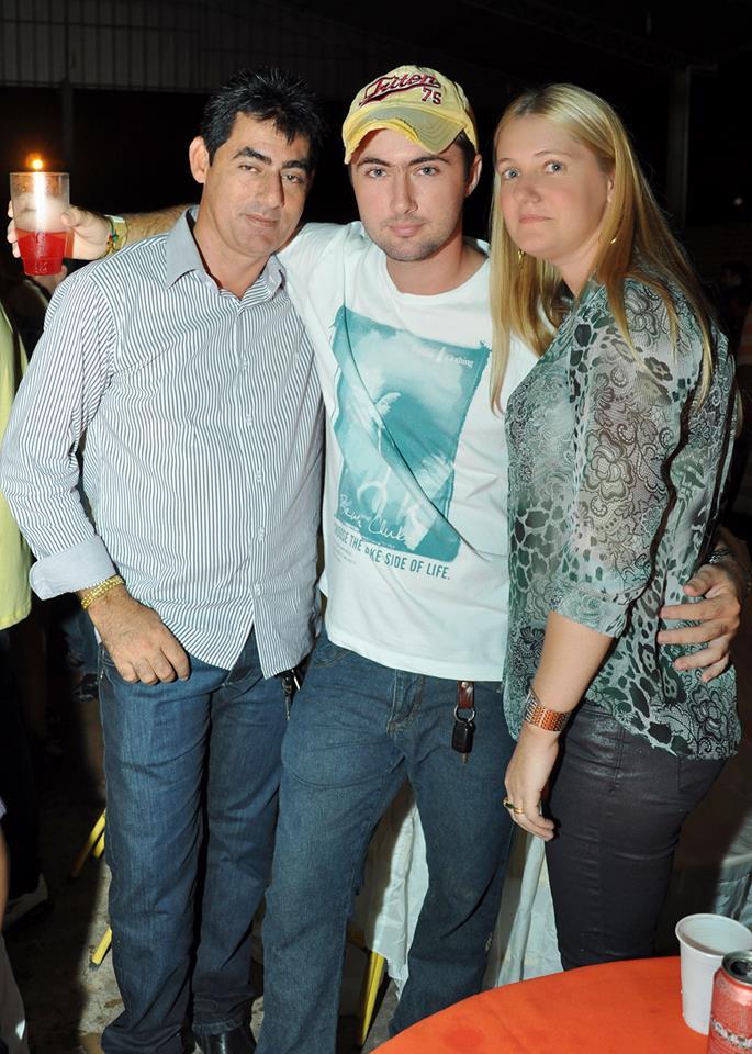 João Vargas (Pai), Leandro (Filho), Noeli Kestring (Mãe)
