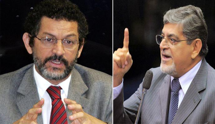 Paulo Rocha PT  e Mario Couto (PSDB)