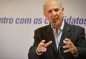 José Roberto Arruda (PR) participa de sabatina na Fecomércio-DF (Foto: Cristiano Costa/Fecomércio-DF/Divulgação)
