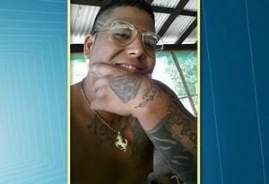 Rodrigo era ex-presidiário e estava solto há poucos dias (Foto: Reprodução/TV Tapajós)