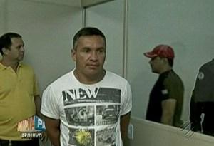 Rosivan Moraes Almeida foi condenado a 120 anos  de prisão. (Foto: Reprodução/TV Liberal)