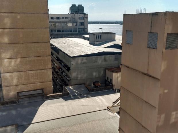 Edifício-garagem no centro da capital tem vários andares(Foto: Regis Borges/Arquivo Pessoal)