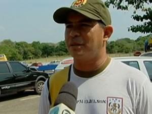 Cabo Elielson de Sousa Castro foi indiciado  suspeito de matar com um tiro um homem no  bairro Maracanã (Foto: Arquivo/TV Tapajós)