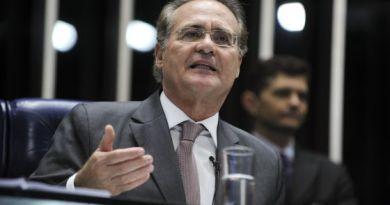 Senador Renan Calheiros nesta terça. / Agência Senado (Moreira Mariz)