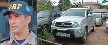 Inspetor-Jailson-Silva-da-PRF-apreendeu-veículo-que-apresentou-várias-irregularidades-e-foi-levado-para-o-pátio-da-Seccional-de-Polícia