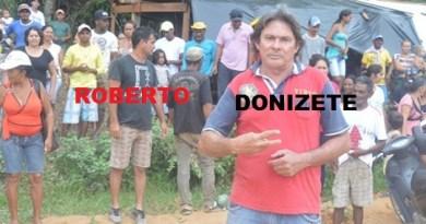 Roberto da Parabôlica e Donizete Duarte -Líderes do movimento que induziram os sem tetos a invadirem aréa particular em Novo Progresso.