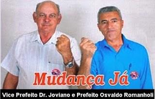 Romanholi e Jovinao -Eleitos com Slogan - Mudança Já!